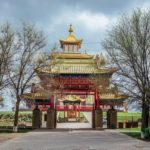 Buddhist temple in Elista – one of the largest in Europe