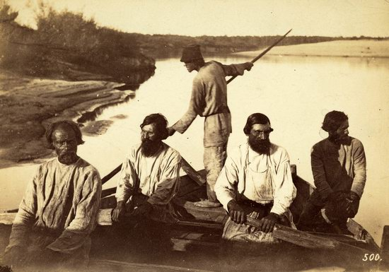 People of the Russian Empire in the 1850s-1870s, photo 24