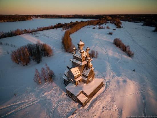Church of Our Lady in Podporozhye, Arkhangelsk region, Russia, photo 1
