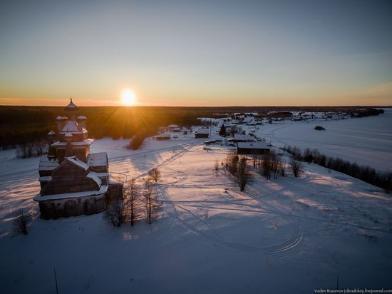 Church of Our Lady in Podporozhye, Arkhangelsk region, Russia, photo 6