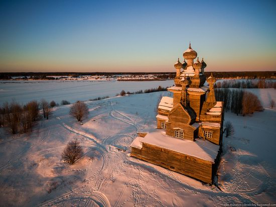 Church of Our Lady in Podporozhye, Arkhangelsk region, Russia, photo 7