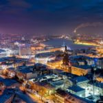 Winter in Kazan – the view from above