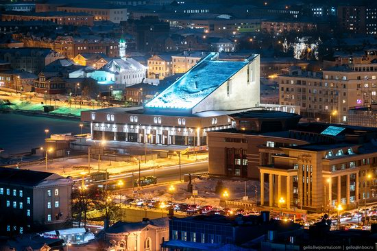 Winter in Kazan, Russia - the view from above, photo 11