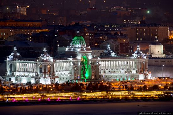 Winter in Kazan, Russia - the view from above, photo 15