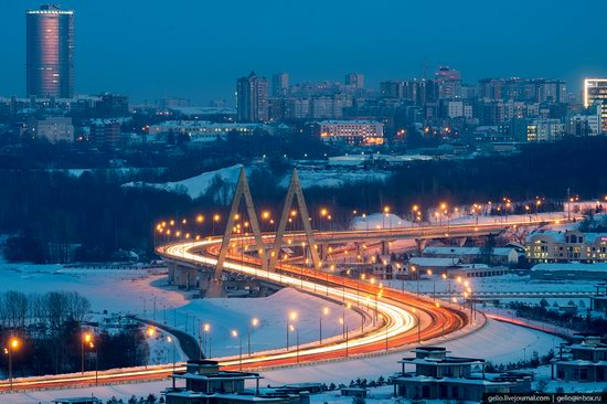 Winter in Kazan, Russia - the view from above, photo 16