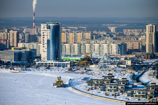 Winter in Kazan, Russia - the view from above, photo 17