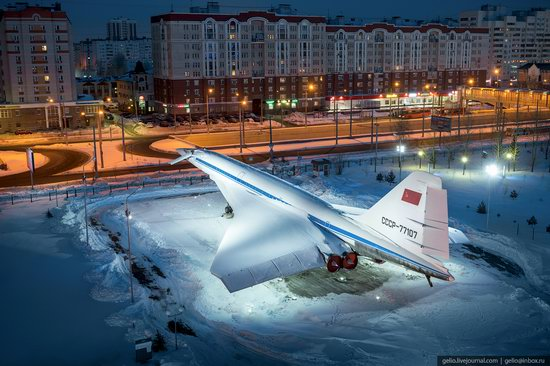 Winter in Kazan, Russia - the view from above, photo 18