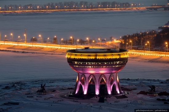 Winter in Kazan, Russia - the view from above, photo 19