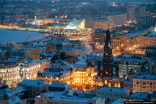 Winter in Kazan, Russia - the view from above, photo 20