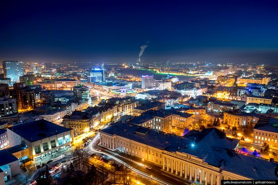Winter in Kazan, Russia - the view from above, photo 21