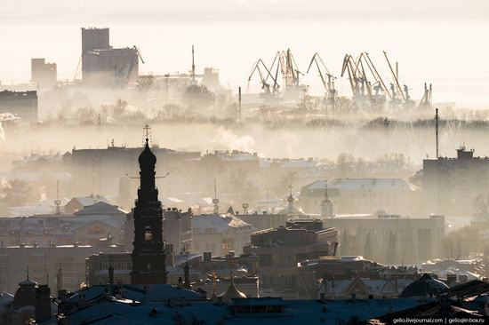 Winter in Kazan, Russia - the view from above, photo 24