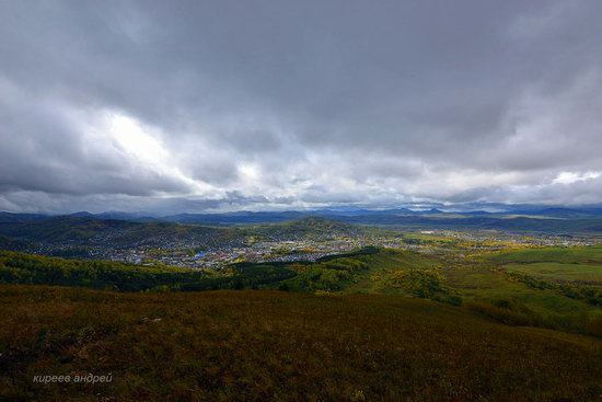 Gorno-Altaysk, Russia - the view from above, photo 11