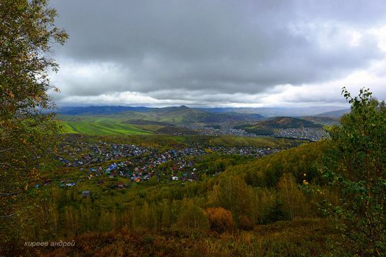 Gorno-Altaysk, Russia - the view from above, photo 13
