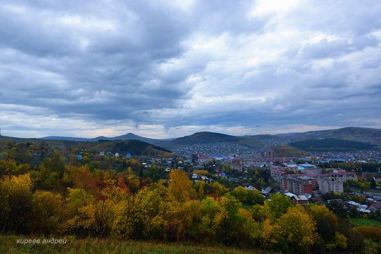 Gorno-Altaysk, Russia - the view from above, photo 15