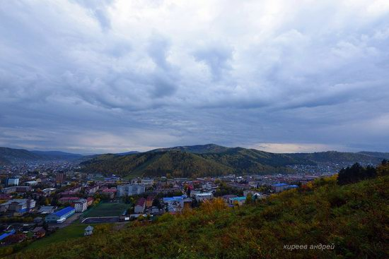 Gorno-Altaysk, Russia - the view from above, photo 16