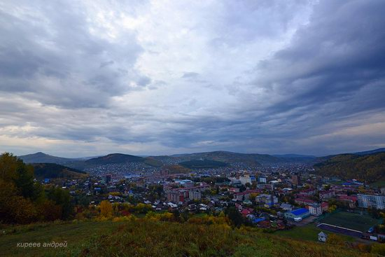 Gorno-Altaysk, Russia - the view from above, photo 17