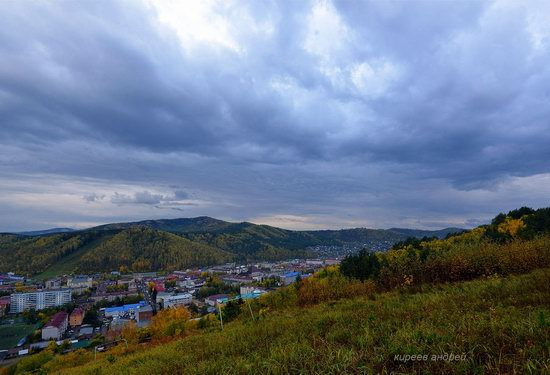 Gorno-Altaysk, Russia - the view from above, photo 18