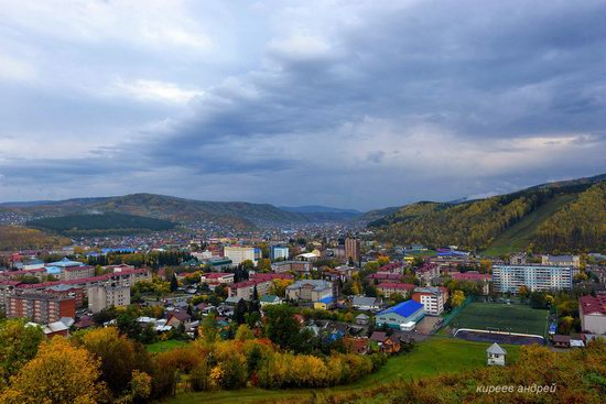 Gorno-Altaysk, Russia - the view from above, photo 19
