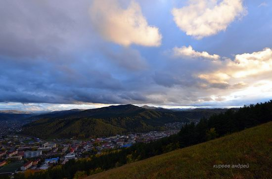 Gorno-Altaysk, Russia - the view from above, photo 2