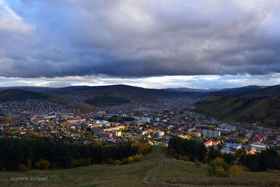 Gorno-Altaysk, Russia - the view from above, photo 20