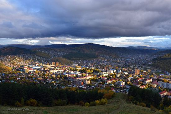Gorno-Altaysk, Russia - the view from above, photo 3