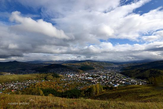Gorno-Altaysk, Russia - the view from above, photo 4