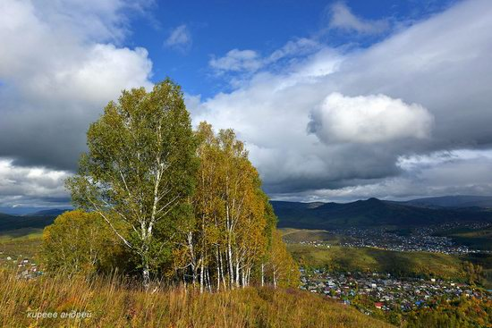 Gorno-Altaysk, Russia - the view from above, photo 5