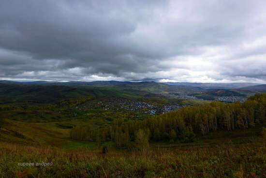 Gorno-Altaysk, Russia - the view from above, photo 7