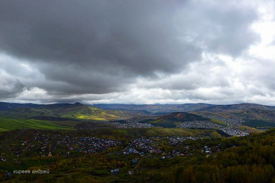 Gorno-Altaysk, Russia - the view from above, photo 8