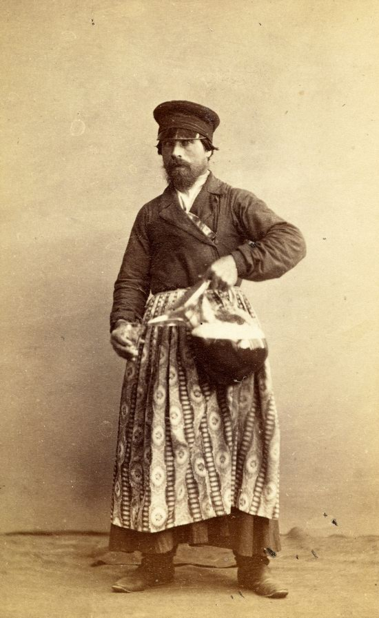 People of the Russian Empire in the 1850s-1870s, photo 37