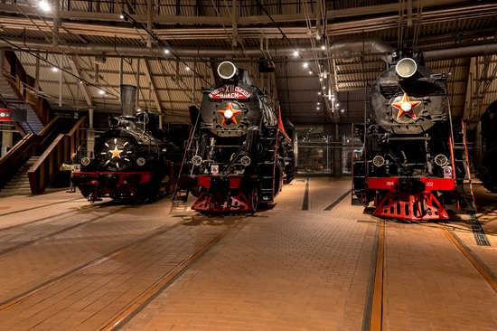 Russian Railway Museum in St. Petersburg, photo 1