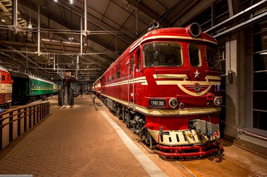 Russian Railway Museum in St. Petersburg, photo 22