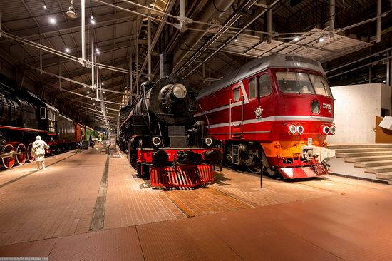 Russian Railway Museum in St. Petersburg, photo 23