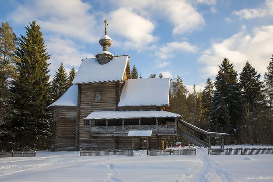 Museum of Wooden Architecture Vasilevo, Tver region, Russia, photo 1