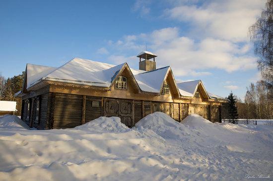Museum of Wooden Architecture Vasilevo, Tver region, Russia, photo 12