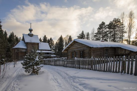 Museum of Wooden Architecture Vasilevo, Tver region, Russia, photo 16