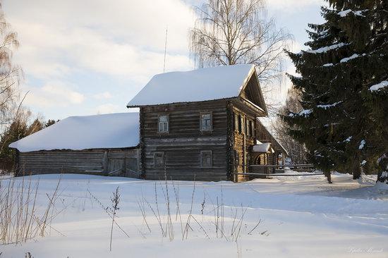 Museum of Wooden Architecture Vasilevo, Tver region, Russia, photo 8