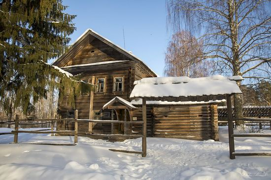 Museum of Wooden Architecture Vasilevo, Tver region, Russia, photo 9