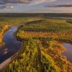 Picturesque Castles of the Sinyaya River in Yakutia