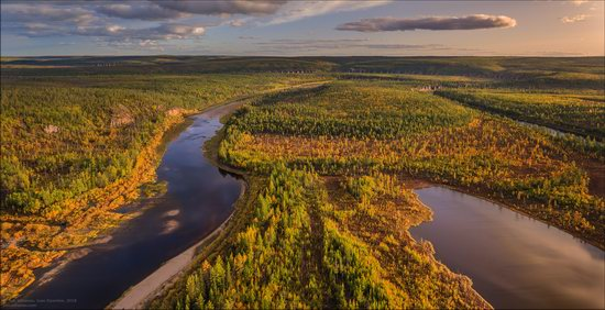 Picturesque Castles of the Sinyaya River in Yakutia, Russia, photo 1