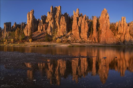Picturesque Castles of the Sinyaya River in Yakutia, Russia, photo 10