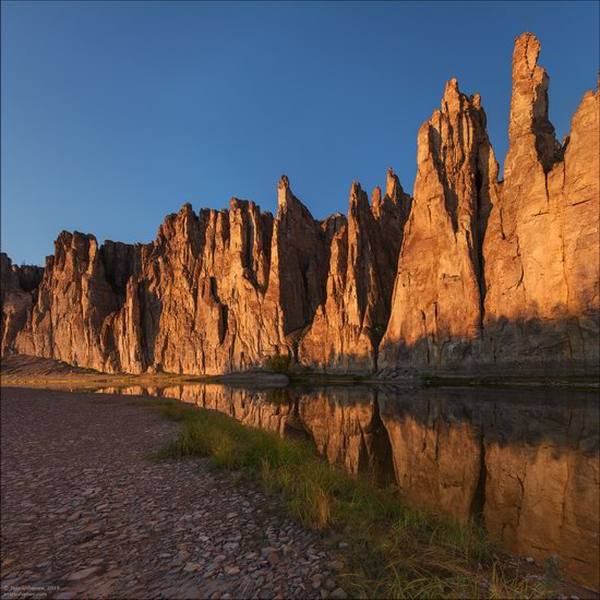 Picturesque Castles of the Sinyaya River in Yakutia, Russia, photo 12