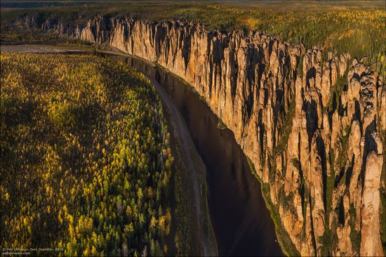 Picturesque Castles of the Sinyaya River in Yakutia, Russia, photo 13