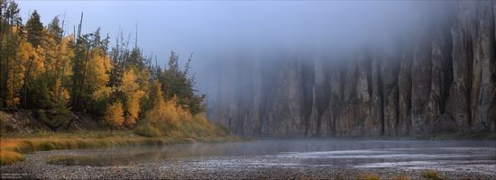 Picturesque Castles of the Sinyaya River in Yakutia, Russia, photo 16