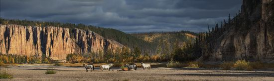 Picturesque Castles of the Sinyaya River in Yakutia, Russia, photo 17