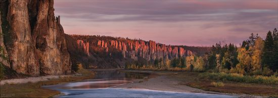 Picturesque Castles of the Sinyaya River in Yakutia, Russia, photo 18