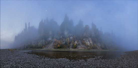 Picturesque Castles of the Sinyaya River in Yakutia, Russia, photo 19