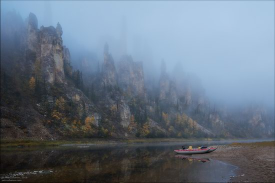 Picturesque Castles of the Sinyaya River in Yakutia, Russia, photo 20