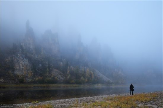Picturesque Castles of the Sinyaya River in Yakutia, Russia, photo 21