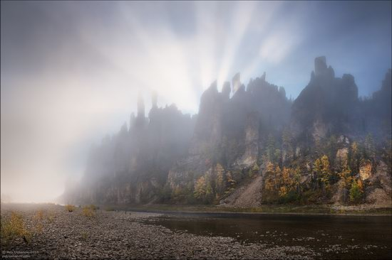 Picturesque Castles of the Sinyaya River in Yakutia, Russia, photo 23